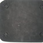Leather Mouse Pad With Bear Claw Stamped Design