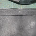 Magnetic Snap added and covered with decorative leather
