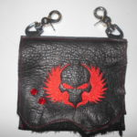 Red Skull Embroidery